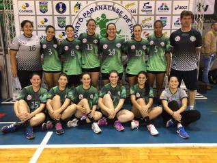 HANDEBOL - Toledo fica na 4ª colocação do Paranaense Feminino