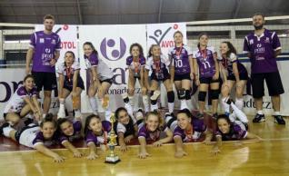 Toledo termina vice-campeão geral da Copa Integração de Vôlei