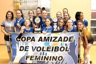 Incomar busca tricampeonato na Copa Amizade de Voleibol