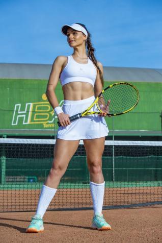 O tênis é a minha paixão, diz Jessica Fernanda