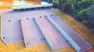 Nova estrutura do Clube de Tiro ATTOL