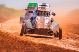 Kartcross teve etapa do campeonato interno