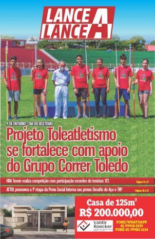 Revista Lance A Lance mês de outubro