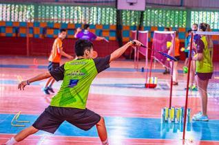 Atletas treinam visando futuras competições