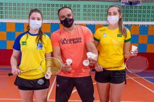 Natalia e Tainara competirão em julho em Acapulco no México