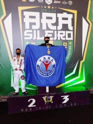 Luis Fellype é ouro no Brasileiro de Jiu-Jitsu
