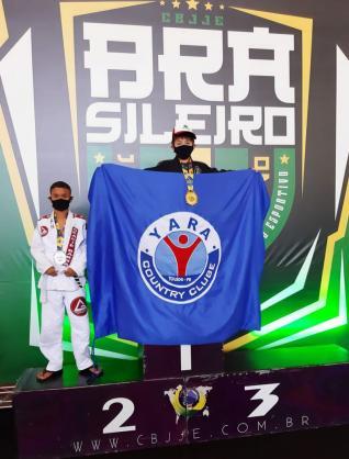 Luiz Fellype é campeão Brasileiro de Jiu-Jitsu