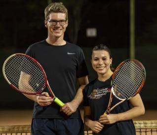 Parabéns tenistas
