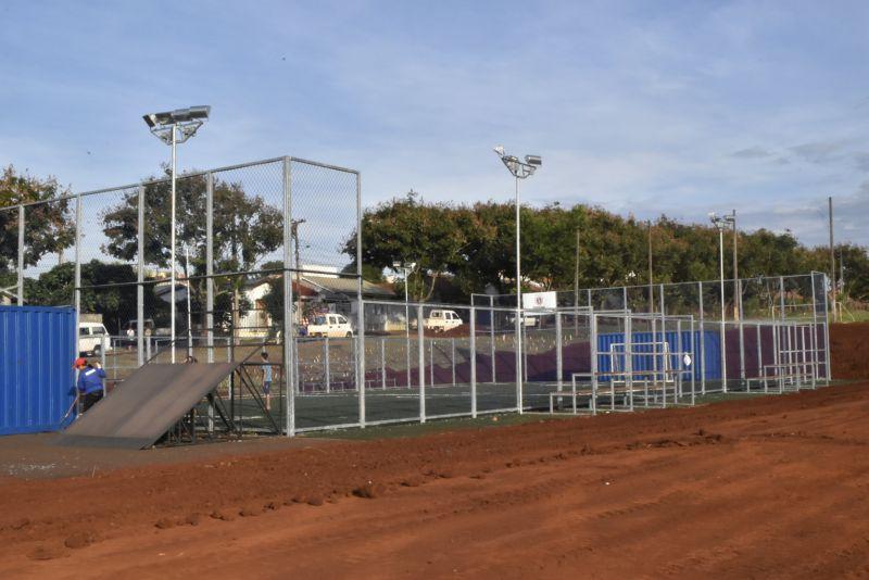 TEM ARENA NO MEU BAIRRO: Vila Pioneiro vai ganhar arena multiuso para prática de esportes
