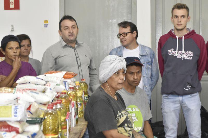 Donativos arrecadados no 1º Too Pescando beneficiam mais de 60 famílias
