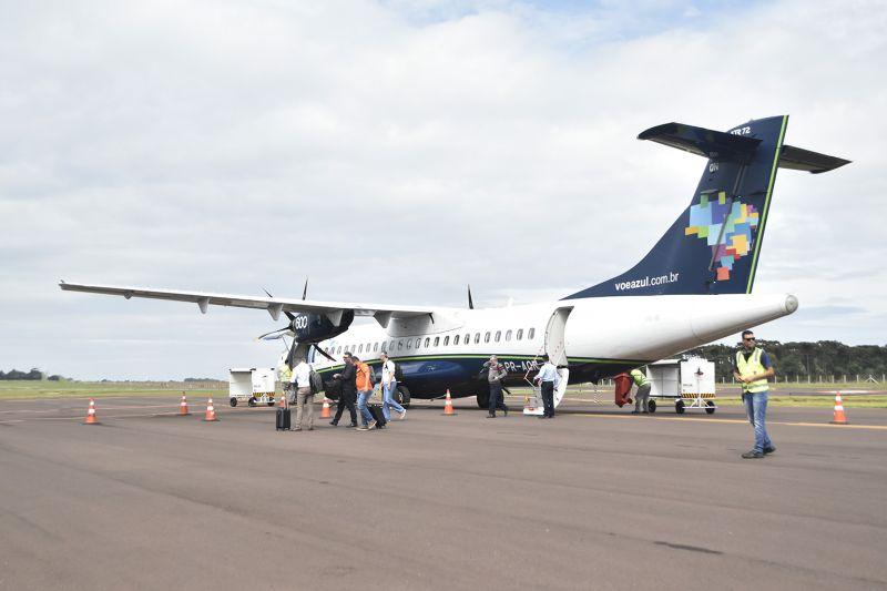 Aeroporto: Em quatro meses de operação, 50 voos embarcam seis mil pessoas