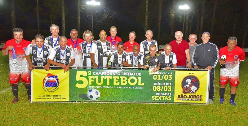 Hotel Nayru conquista o título do Cinquentão de Futebol Suíço do Toledão